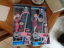 2 Different Monster High   DRACULAURA Dead Tired  2010,2012 Both NEW in box