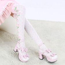 Japanese Sweet Lolita Harajuku Strawberry Kawaii Stockings Thigh highs Socks
