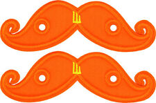 SHWINGS Orange Neon Mustache wings shoes official designer Shwings NEW 11713