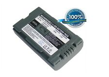 7.4V battery for Panasonic CGR-D120A/ 1B, NV-DS33, AG-DVX100BE, NV-DA1EN, CGR-D0
