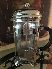Evviva French Press with Sleek Stainless Coffee Scoop-NOB