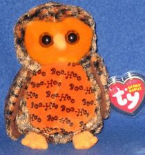 TY BOO WHO? the HALLOWEEN OWL - (HALLMARK GOLD CROWN EXCL) - MINT with MINT TAGS