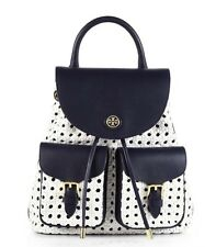 Tory Burch Robinson Basket Weave Backpack