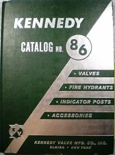 KENNEDY Valve Catalog ASBESTOS 1963 Composition Disc Packing Pipe Fire Hydrant