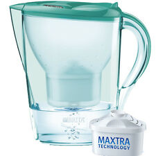 Brita Marella XL 3.5L Water Filter Jug, Mint + 1 Maxtra Filter Cartridge