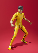 Bruce Lee Yen Chen Enter the Dragon yellow suit Action Figure S.H.Figuart Bandai
