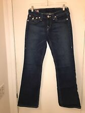 Ladies True Religion Becky Boot Cut Jeans Size 28 x 31