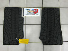 07-2013 Jeep Wrangler 2- Door Rubber Front Floor Slush Mats Mopar OEM