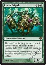 4 FOIL Ezuri's Brigade - Scars of Mirrodin MtG Magic Green Rare 4x x4