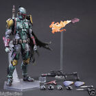 NEW Play Arts Kai Star Wars The Force Awakens Boba Fett  Action Figure