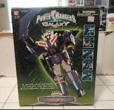 Power Rangers Lost Galaxy Deluxe Stratoforce Megazord-Loose Complete-