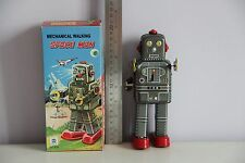 SPACE MAN ROBBY ROBOT TIN TOY WIND UP NOMURA ALPS YOSHIYA HORIKAWA TAKATOKU