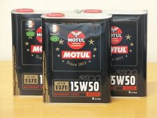 6,83€/l Motul Classic Motor Oil SAE15W-50 3 x 2 ltr