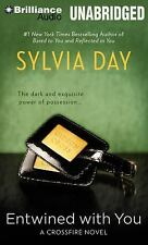 Entwined with You (Crossfire Novels) [Audio] by Sylvia Day NEW SEALED