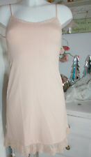By timo ti Mo porteur-robe Dress tunique vintage dentelle melon size: xs NEUF