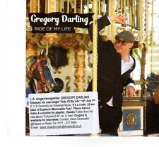 (FT203) Gregory Darling, Ride Of My Life - 2012 DJ CD