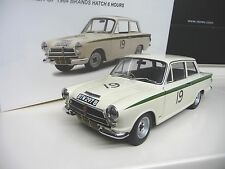 1:18 Autoart Ford Lotus Cortina MK I #19 Winner Brands Hatch 1964  NEW
