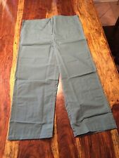 Men's Surgical Operating Trousers Large Cotton Polyester Green Scrub Pants