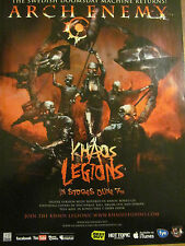 Arch Enemy, Khaos Legions, Full Page Promotional Ad