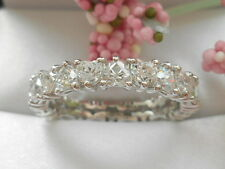 QVC-Epiphany Diamonique Heart Eternity band Size 8