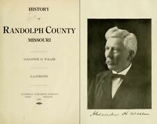 1920 RANDOLPH County Missouri MO, History and Genealogy Ancestry Family DVD B23