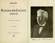 1920 RANDOLPH County Missouri MO, History and Genealogy Ancestry Family DVD B23