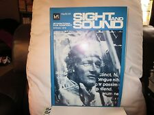 SIGHT AND SOUND (TWO 1979 mag) Robert Altman, Joseph Losey, Billy Wilder, Renoir
