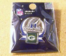 Green Bay Packers NFC Champions pin v3 Super Bowl 45