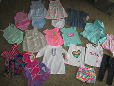 NEW LOT /19 BABY GIRL CLOTHING CARTER'S GAP SHORTS ROMPERS DRESSES+  18 MONTHS