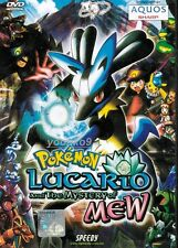 English Version ~ Pokemon Movie 8 : Lucario and the Mystery of Mew  _ DVD Anime