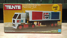 Vintage TENTE Construction Model 223 Pepsi-Cola Truck Factory Sealed