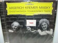 Shostakovich/Tchaikovsky PIANO TRIOS Aegerich, Kremer, Maisky DG NEW