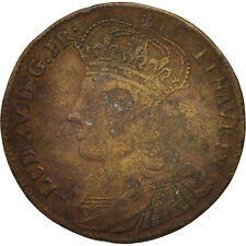 [#405999] France, Royal, Pacis Firmandae, Louis XV, Token, TB, Brass, 24