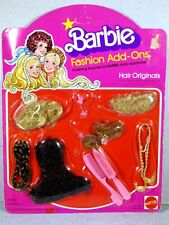 NIB BARBIE DOLL 1978 FASHION ADD-ONS HAIR ORIGINALS