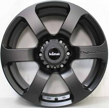 18 inch Genuine KING 4x4 Alloy Wheels & 33x12.5R18 ATTURO MUD TERRAIN TYRES