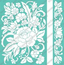 Cuttlebug 5x7 Embossing folder & Border - Floral Bouquet - 2001819
