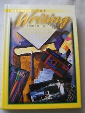 Holt Elements of Writing Introductory Course Grade 9 ISBN# 0030508584