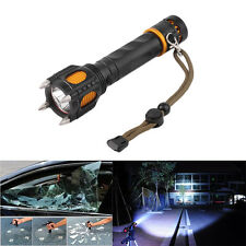 6 Modes 2000LM Tactical Self-Defense Audible Alarm XM-L T6 LED Flashlight HR