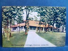 Postcard IN Winona Lake Dr. Chapman's Cottage