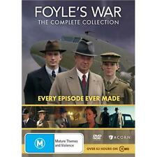 Foyle's War Tv Series Complete Seasons 1-9 1 2 3 4 5 6 7 8 9 New Oz DVD Region 4