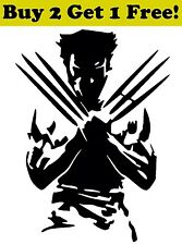 Wolverine Vinyl Decal Sticker Car Bumper Window Wall X-Men Marvel Hero Jackman