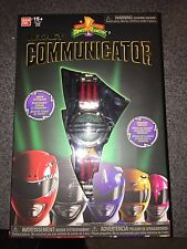 NIB MIGHTY MORPHIN POWER RANGERS LEGACY COMMUNICATOR 5 COLOR BANDS SHIP EVERYDAY
