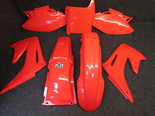 Honda CR125 CR250 2004-2007 X-FUN full complete all red plastic kit PK1003