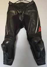 *Dainese Delta Pro C2 Leather Motorcycle Trousers *Race Track Pants *EU 52 UK 34
