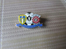 LEEDS United v HARTLEPOOL United Carling Cup Round 3 FOOTBALL Pin Badge