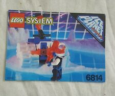 Lego 6814 ICE PLANET 2002  Ice Tunnelator (1993) Classic Vintage  Space