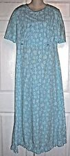 "Amish Mennonite Tall Cape Dress Modest Homemade Handmade 40""Bust / 36""Waist"