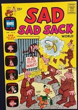 SAD SAD SACK WORLD #25 (1970) Harvey Comics Giant Size VERY FINE