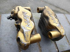 TRIUMPH 675 STREET TRIPLE 2010 675R PAIR NISSIN RADIAL FRONT BRAKE CALIPERS
