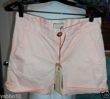 "Current/Elliott Captain boyfriend Shorts Colored Blush size 24 Casual 32""W Flat"